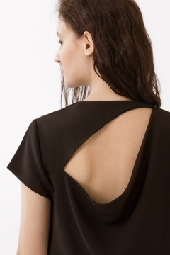 Black Moira Top