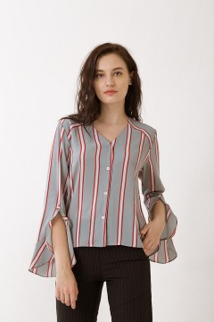 Stripes Saffron Top