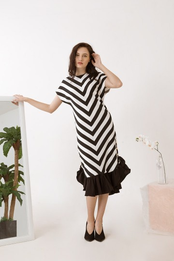 Stripes Maura Dress