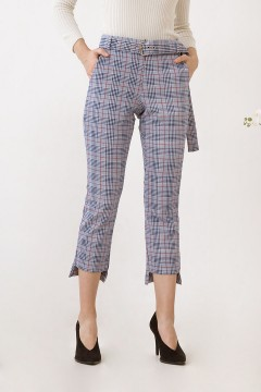 Checked Zeina Pants