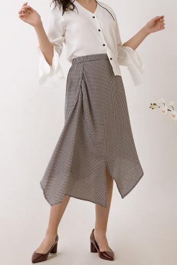 Houndstooth Neva Skirt