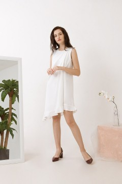 White Corin Dress