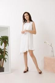White Corin Dress