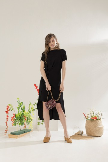 Black Marion Dress