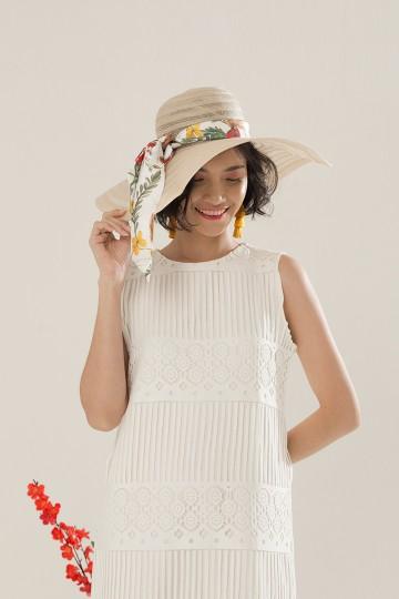 Creme Summer Hat