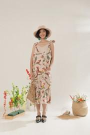 Creame Blumen Dress