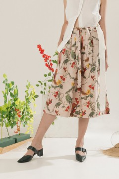 Creame Blumen Culottes