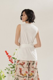 White Isay Top