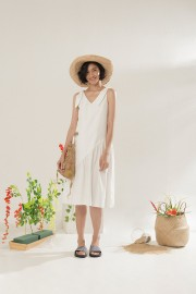White El Nido Dress