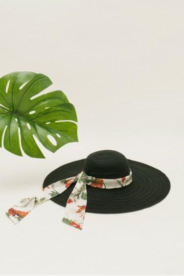Black Summer Hat