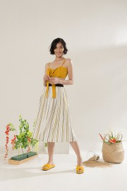Lemonade Pleated Skirt
