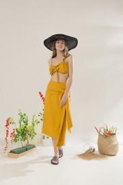 Mustard Bora Bikini Set