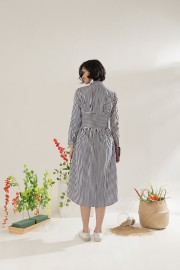 Stripes Malva Dress