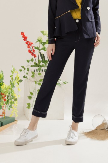 Navy Toran Pants