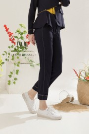 Black Toran Pants