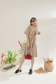 Khaky Outer Dress
