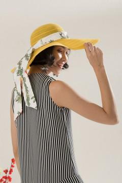 Yellow Summer Hat