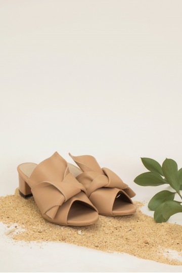 Latte Lacriox Heels