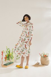 Blumen Malva Dress