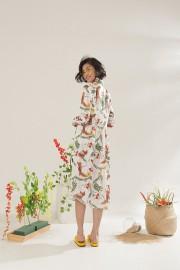 Blumen Malva Dress