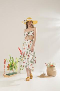 White Bora Bikini Set