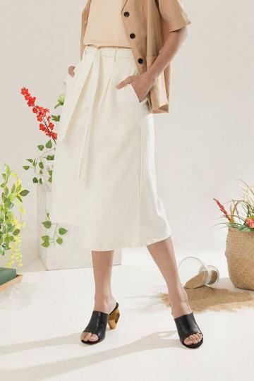 Ivory Lacma Culottes