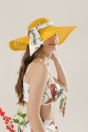 Yellow Summer Hat