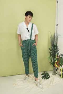 Green Continent Pants