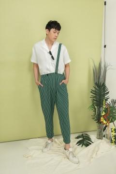Green Continent Pants