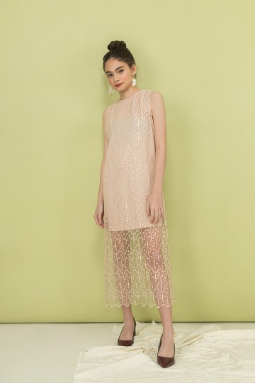Nude Palermo Dress