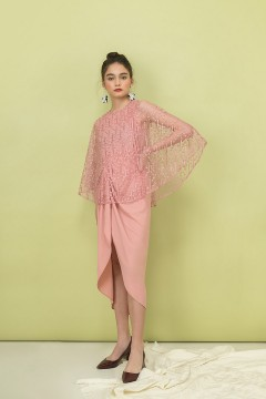 Pink Irish Kaftan