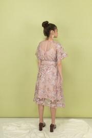 Dusty Pink Athena Dress