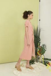 Pink Phoebe Twisted Dress