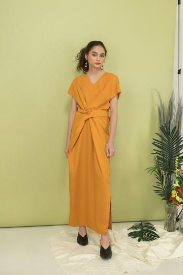 Mustard Nastya Dress