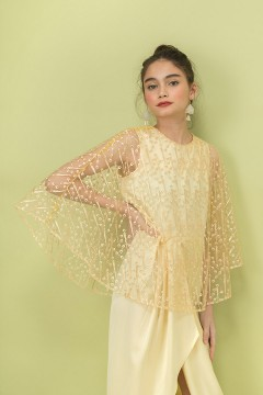 Custard Irish Kaftan