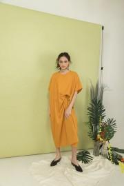 Mustard Kaftan Dress
