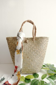 Rattan Tote Bag