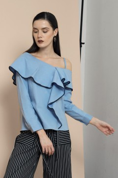 Blue Poppy Top