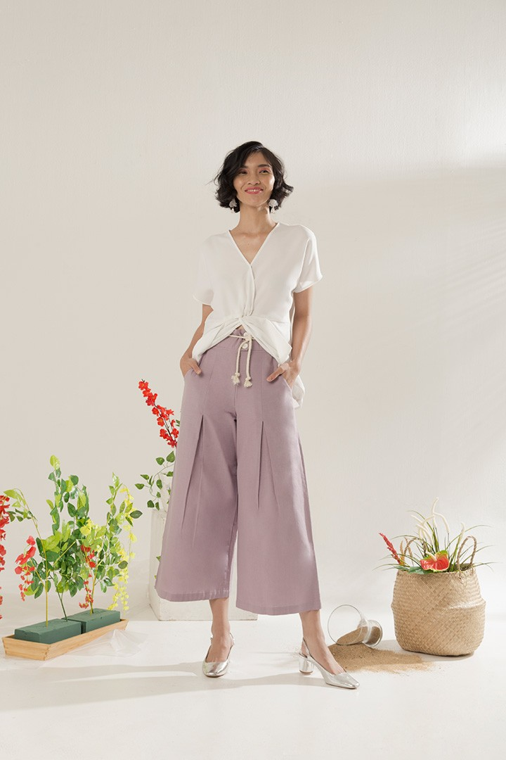 7884bee6fd Taro Nature Culottes - Label Eight