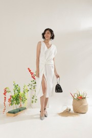 White Millie Dress