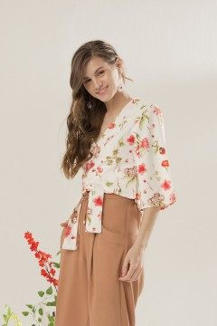 Floral Lore Top Outer
