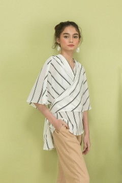 Stripes Cape Top