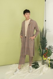 Pattern Albatros Coat