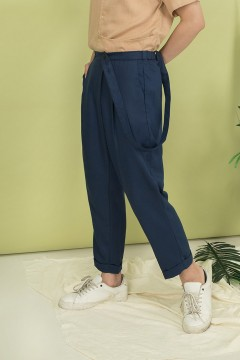 Navy Continent Pants