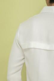 White Oscar Shirt