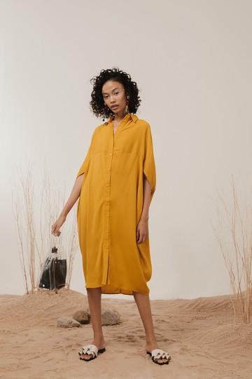 Mustard Agna Dress