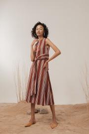 Brick Sloane Dress