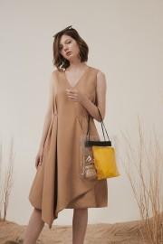 Latte Emina Dress