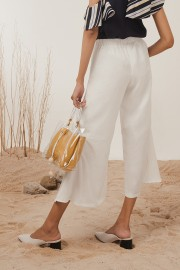White Ayana Pants