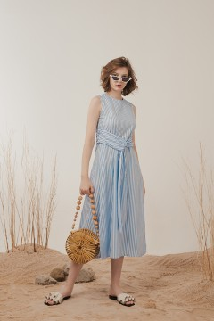 Sky Blue Sloane Dress